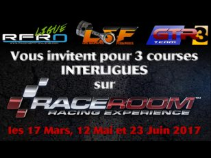 affiche championnat inter-ligues simracing