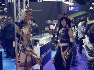 Beaucoup de cosplay se promenaient dans les halls