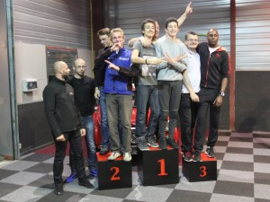 Voici les podium, la PS Team, Cars-Club et la Team Fox