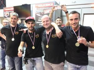 La Team TSR a connu bien des soucis mais réussit à revenir au pied du podium