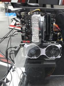 Voici une belle vue sur les entrailles du simulateur