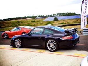 La Porsche, la première de la série avec boîte manuelle