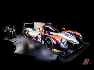 Enkey Design a aussi préparé cette très belle livrée pour l'équipe So 24! by Lombard Racing, qui a pris le départ des dernières 24h du Mans