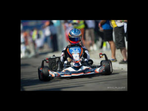 Qu'importe la surface, Enkey Design s'adapte. Ici un Kart de la Team CER ASK qui a pris part à la dernière édition des 24h Karting au Mans