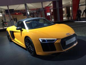 Une fan d'Audi