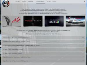 Des championnats sont organisés par la communauté sur toutes les plateformes et dans toutes les catégories du sport automobile