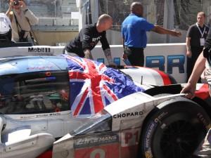 La voiture gagnante des 24H du Mans : tout le monde n'a d'yeux que pour elle