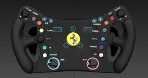 Modélisation en 3D pour le positionnement des boutons et logos