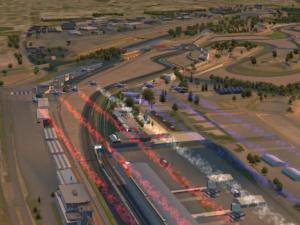 Au Mans, le départ de chaque course est donné par la patrouille de France sur iRacing