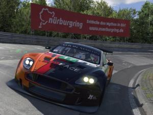 L'Aston Martin adore défier l'enfer vert