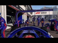 L'animation est semblable à celle de F1 2017. Pas d'amélioration donc sur les mouvements non réalistes de la voiture.