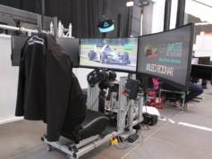 Le simulateur bien équipé de l'équipe Apex Racing UK