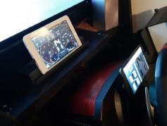 Mon installation avec une tablette tactile et un smartphone