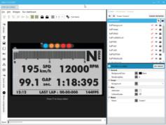Interface d'édition et de création de SimHub